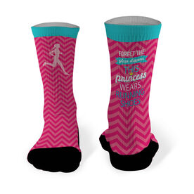 Running Printed Mid Calf Socks Forget The Glass Slippers
