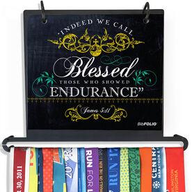 BibFOLIO Plus Race Bib and Medal Display - Indeed We Call Chalkboard