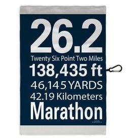 Running Workout/Golf Towel 26.2 Math Miles