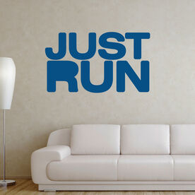 Just Run Removable GoneForARunGraphix Wall Decal