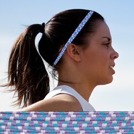 Bunji BAND Elastic Headbands for Athletes - Viola