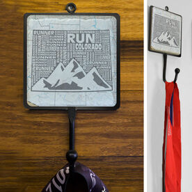 Stone Medal Hook Colorado State Runner Map