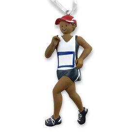 Runner Resin Figure Ornament - Black Male