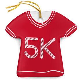 Marathon Porcelain Ornament 26.2 Shirt