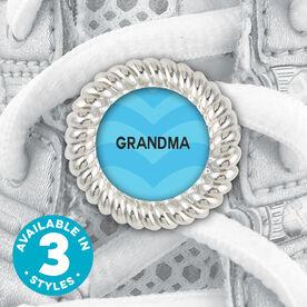 Shoe Lace Charm Grandma