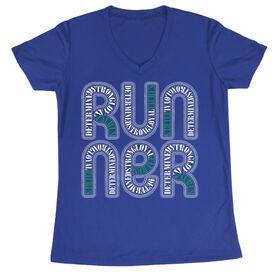 Women's Running Short Sleeve Tech Tee Taurus Zodiac Runner