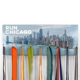 Running Hooked on Medals Hanger - Chicago Sketch