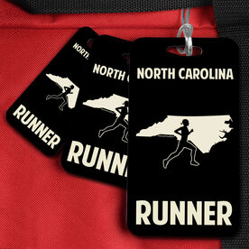 Bag/Luggage Tag North Carolina State Runner Female