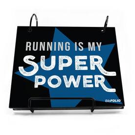 BibFOLIO® Race Bib Album - Running Is My Superpower