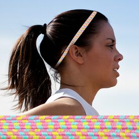 Bunji BAND Elastic Headbands for Athletes - Dahlia