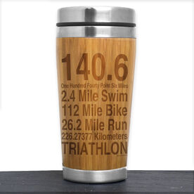 Bamboo Travel Tumbler 140.6 Math Miles