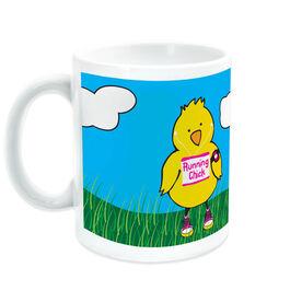 Running Ceramic Mug Running Chick