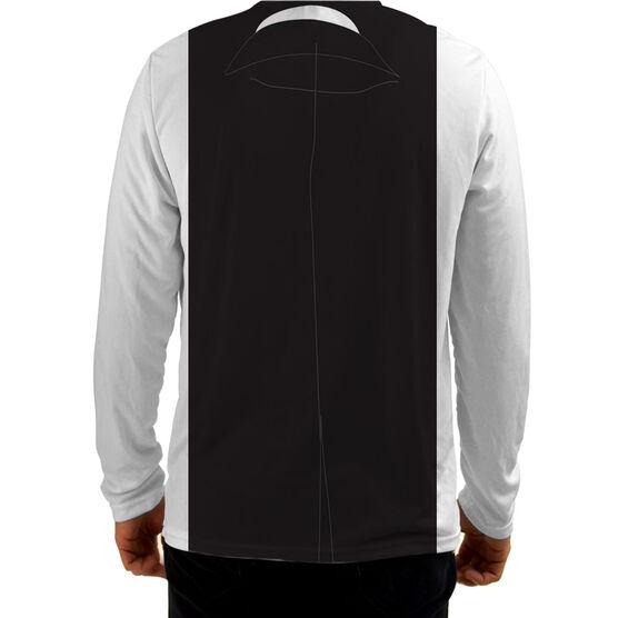 Men's Running Customized Long Sleeve Tech Tee Tux