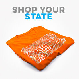 Click To Shop All State Specific Men's Short Sleeve Tech Tees