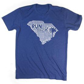 Men's Lifestyle Runners Tee South Carolina State Runner