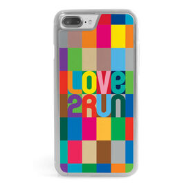 Running iPhone® Case - Love 2 Run (Color)