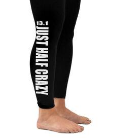 Runner's Leggings 13.1 Half Crazy