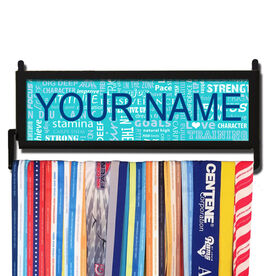 RunnersWALL Personalized Running Motivation Medal Display