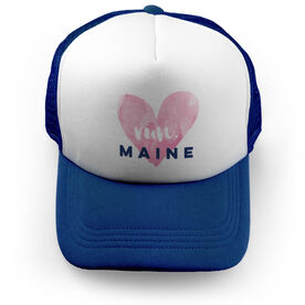 Running Trucker Hat Run Maine