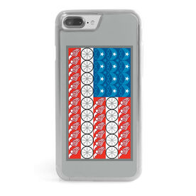 Triathlon iPhone® Case - Flag with Elements