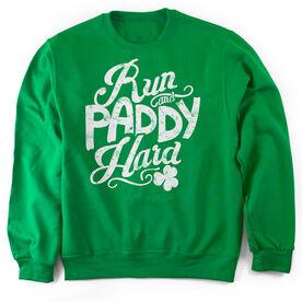 Running Crew Neck Sweatshirt Run and Paddy