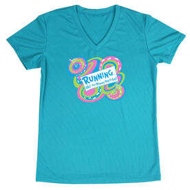 Women's Running Short Sleeve Tech Tee Running Oh The Places You'll Go