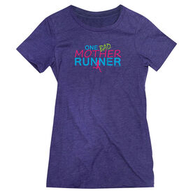 Women's Everyday Runners Tee One Bad Mother Runner