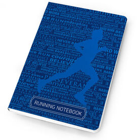 Running Notebook Running Inspiration Male