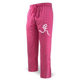 Running Lounge Pants Stick Figure Runner Girl