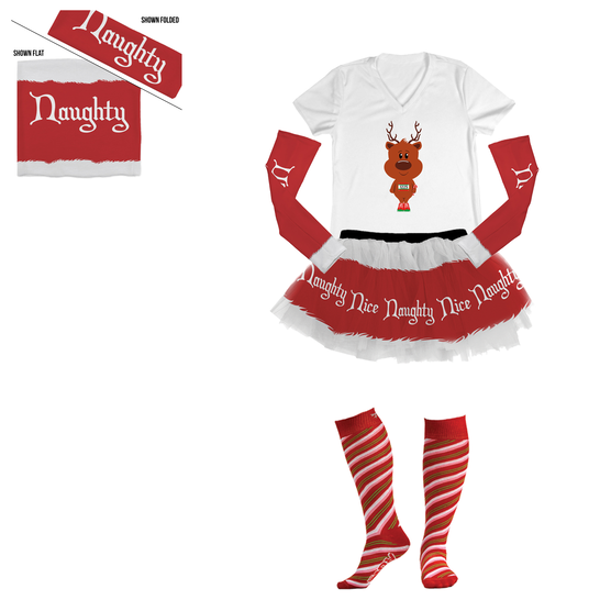 Naughty or Nice Running Outfit