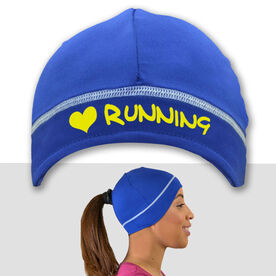Pony Up I Heart Running Performance Beanie