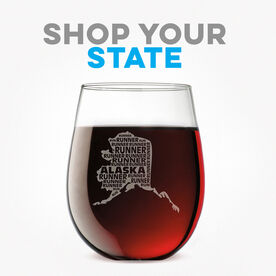 Click To Shop All State Specific Wine Glasses