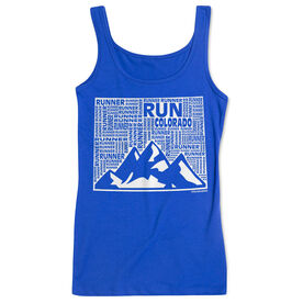 Women's Athletic Tank Top Colorado State Runner