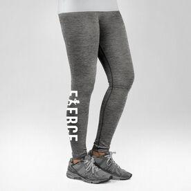 Running Performance Tights Fierce Runner Girl