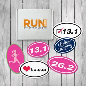 RUNBOX Gift Set - Race Girl Magnets