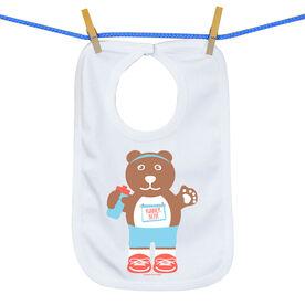 Baby Bib Runner Bear