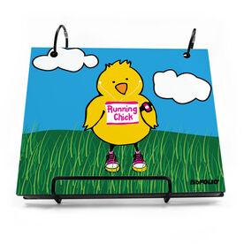 BibFOLIO® Race Bib Album - Running Chick