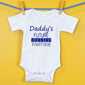 Baby One-Piece Daddy's Future Running Partner