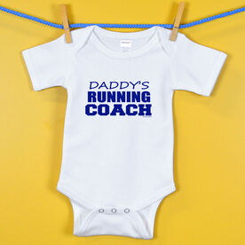 Baby One-Piece Daddy's Running Coach