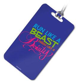 Running Bag/Luggage Tag Run Like A Beast