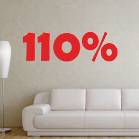 110% Removable GoneForARunGraphix Wall Decal