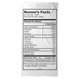 Running Beach Towel Runners Facts