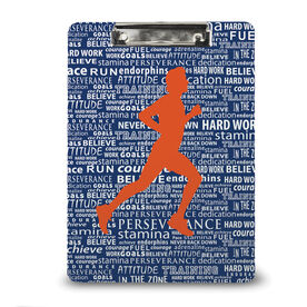 Running Custom Clipboard Running Inspiration Male