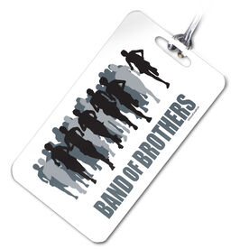 Band of Brothers- Running Personalized Sport Bag/Luggage Tag