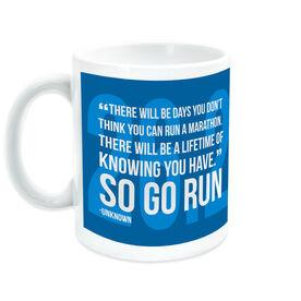 Running Ceramic Mug There Will Be Days