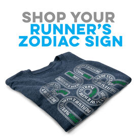 Click to Shop all Running Zodiac Short Sleeve Tees