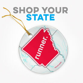 Click To Shop All State Specific Porcelain Ornaments