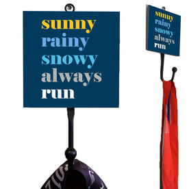 Running Medal Hook - Weather Mantra