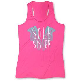 Women's Performance Singlet Sole Sister Love