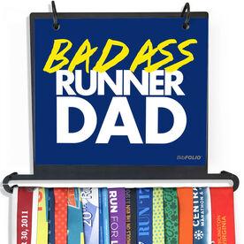 BibFOLIO Plus Race Bib and Medal Display - Bad Ass Runner Dad